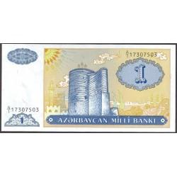 Azerbayan 1 Manat. 1999. (s/f). SC. PIK. 14