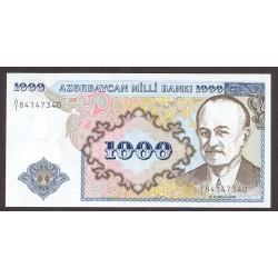 Azerbayan 1000 Manat. 1993. SC. PIK. 20 a