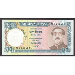 Bangladesh 10 Taka. 1996. SC. PIK. 32
