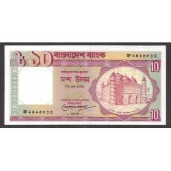Bangladesh 10 Taka. 1997. SC. PIK. 33