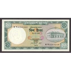 Bangladesh 20 Taka. 1988. SC. PIK. 27 b