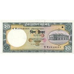 Bangladesh 20 Taka. 2002. SC. PIK. Nuevo