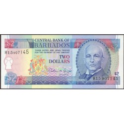 Barbados 2 Dolar. 1995. SC. PIK. 46