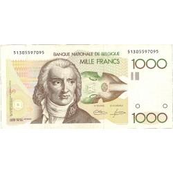 Belgica 1000 Francos. 1980. MBC-/MBC. (André Ernest Modeste Gretry) . PIK. 144 a
