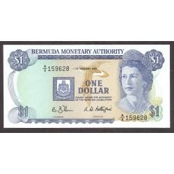 Bermuda 1 Dolar. 1988. SC. KM. 28 d