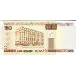 Bielorrusia 20 Rublos. 2000. SC. PIK. 24