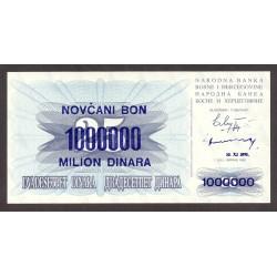 Bosnia Herzegovina 1000000 Dinara. 1993. SC. PIK. 35 b