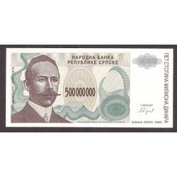 Bosnia Herzegovina 500000000 Dinara. 1993. SC. PIK. 155 a