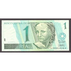Brasil 1 Reales. 1994. SC. PIK. 243 b