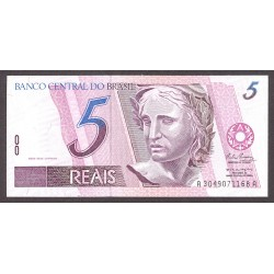Brasil 5 Reales. 1994. SC. PIK. 244 d