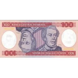 Brasil 100 Cruzeiro. 1984. SC. PIK. 198 b