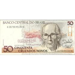 Brasil 50 Cruzado. 1989. (s/f). SC. PIK. 219 a