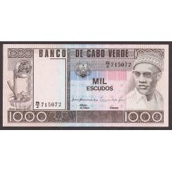 Cabo Verde 1000 Escudos. 1977. SC. PIK. 56 a