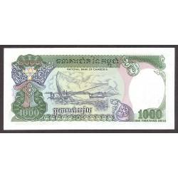 Cambodia-Kampuchea 1000 Riels. 1992. SC. PIK. 39