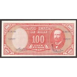 Chile 100 Pesos. 1960. SC. PIK. 127 a