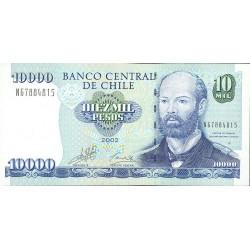 Chile 10000 Pesos. 2002. SC. PIK. 157