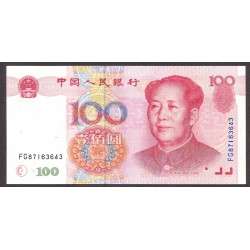 China.-Rep.Popul. 100 Yuan. 1999. SC. PIK. 901