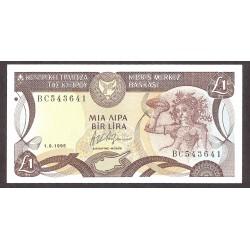 Chipre 1 Libra/Pound. 1995. SC. KM. 53 d