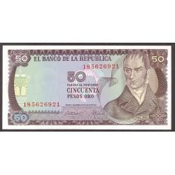 Colombia 50 Pesos. 1974. SC. PIK. 414