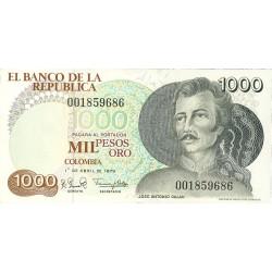 Colombia 1000 Pesos. 1979. 01-04. SC. PIK. 421 a