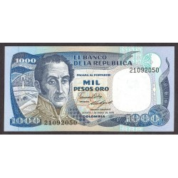 Colombia 1000 Pesos. 1986. SC. PIK. 432