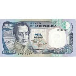 Colombia 1000 Pesos. 1995. 02-10. SC. PIK. 438