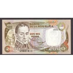 Colombia 2000 Pesos. 1994. SC. PIK. 439 b