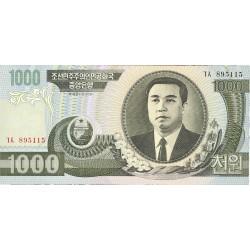 Corea del Norte 1000 Won. 2002. SC. PIK. 45