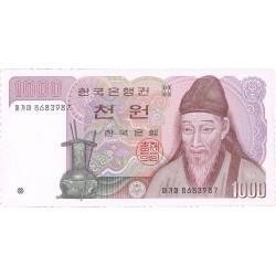Corea del Sur 1000 Won. 1983. (s/f). SC. PIK. 47
