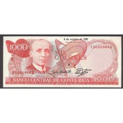 Costa Rica 1000 Colon. 1990. SC. PIK. 259 a