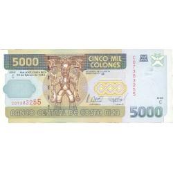 Costa Rica 5000 Colon. 1999. 24-02. SC. PIK. 268 a
