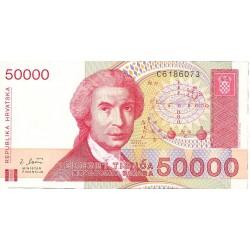 Croacia 50000 Dinara. 1993. 30-05. SC. PIK. 26 a