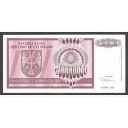 Croacia 50000000 Dinara. 1993. SC. PIK. R-14 a