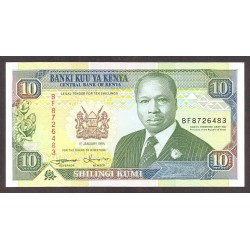 Kenia 10 Shilingi. 1994. SC. PIK. 24 f