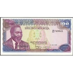 Kenia 100 Shilingi. 1978. 01-07. SC. PIK. 18