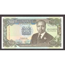 Kenia 200 Shilingi. 1994. SC. PIK. 29 f