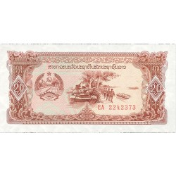 Laos 20 Kip. 1979. (s/f). SC. PIK. 28