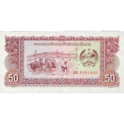Laos 50 Kip. 1979. (s/f). SC. PIK. 29