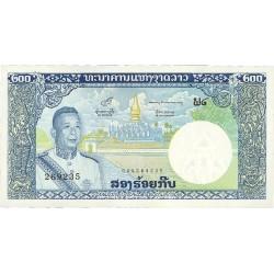 Laos 200 Kip. 1963. (s/f). SC. PIK. 13 b