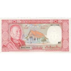 Laos 500 Kip. 1974. (s/f). SC. PIK. 17 a