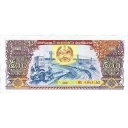 Laos 500 Kip. 1988. SC. PIK. 31