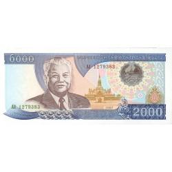 Laos 2000 Kip. 1997. SC. PIK. 33 a