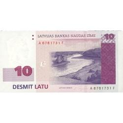Latvia 10 Latu. 2000. SC. PIK. 50