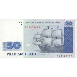 Latvia 50 Latu. 1992. (1994). SC. PIK. 46