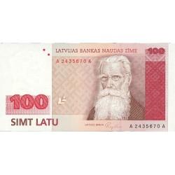 Latvia 100 Latu. 1992. (1994). SC. PIK. 47