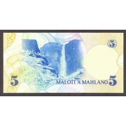Lesotho 5 Maloti. 1981. SC. PIK. 5