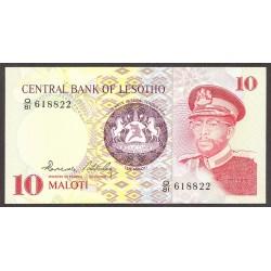 Lesotho 10 Maloti. 1981. SC. PIK. 6 b