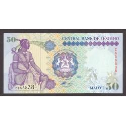 Lesotho 50 Maloti. 1997. SC. ESCASO/A. PIK. 17 b
