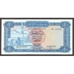 Libia 1 Dinar. 1972. SC. ESCASO/A. PIK. 35 b