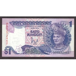Malasia 1 Ringgit. 1989. SC. PIK. 27 b